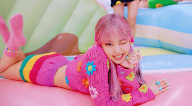 1920x1080 Blackpink Jennie Wink Pink Hair 1080p Laptop Full Hd Wallpaper Hd Music 4k Wallpapers Images Photos And Background