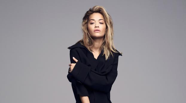 HD Wallpaper | Background Image Blond Rita Ora 2019
