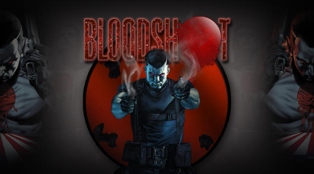 HD Wallpaper | Background Image Bloodshot Comic