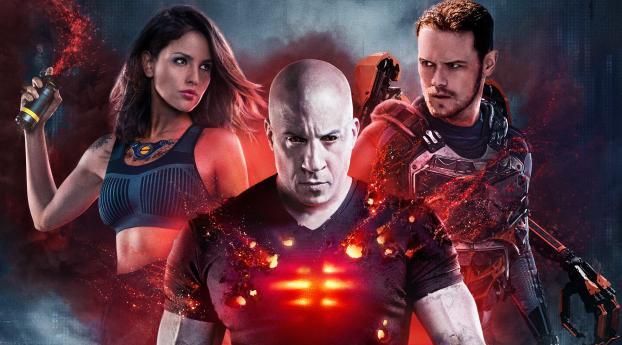 HD Wallpaper | Background Image Bloodshot Movie 4K Poster