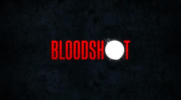 HD Wallpaper   Background Image Bloodshot Movie Logo