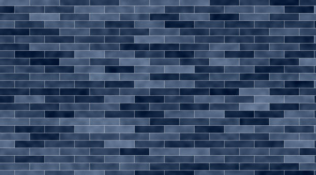 HD Wallpaper | Background Image Blue Brick Texture