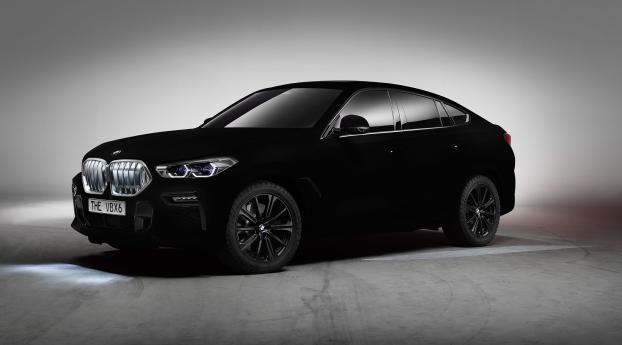 HD Wallpaper | Background Image BMW X6 Vantablack
