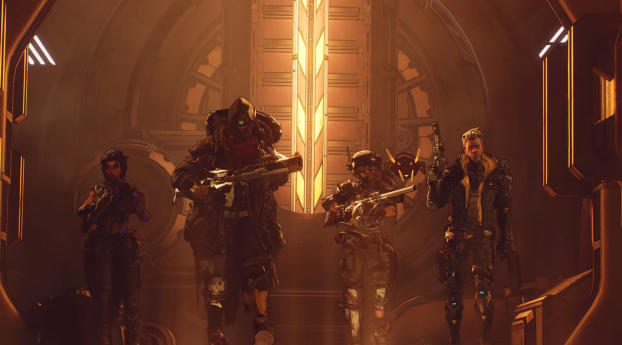 HD Wallpaper | Background Image Borderlands 3 Vault Hunters
