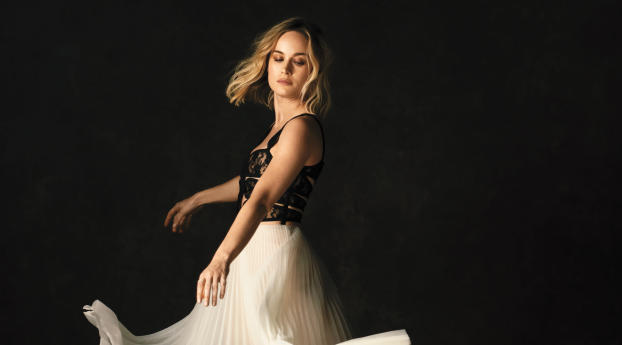 HD Wallpaper | Background Image Brie Larson 2019 Photoshoot