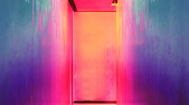 Bright Door Iphone X Wallpaper in 1125x2436 Resolution