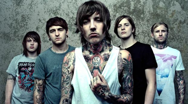 480x854 Bring Me The Horizon Tattoo Haircuts Android One Mobile Wallpaper Hd Music 4k Wallpapers Images Photos And Background