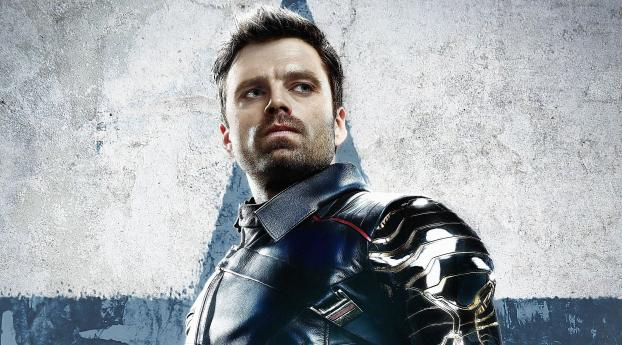 Bucky from The Falcon And The Winter Soldier Wallpaper