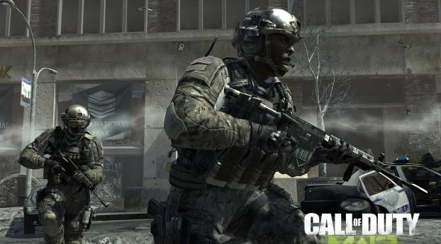 1280x2120 Call Of Duty Modern Warfare 3 Soldiers Bank Machines