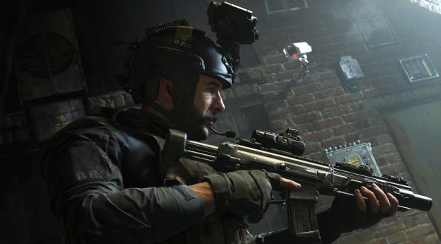 HD Wallpaper   Background Image Call of Duty Modern Warfare Game 2019