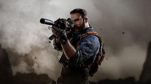 Call of Duty Modern Warfare Game Wallpaper
