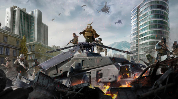 Call Of Duty Warzone Game 2020 Wallpaper