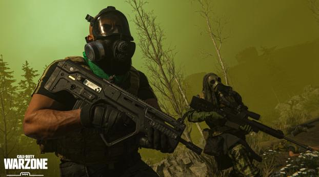 Call of Duty Warzone Game Wallpaper 640x1136 Resolution
