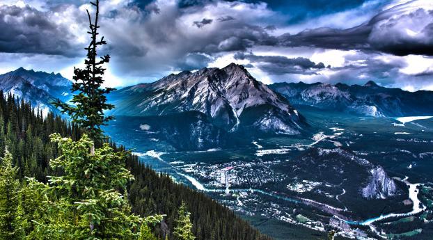 2932x2932 Canada Mountains Rocks Ipad Pro Retina Display
