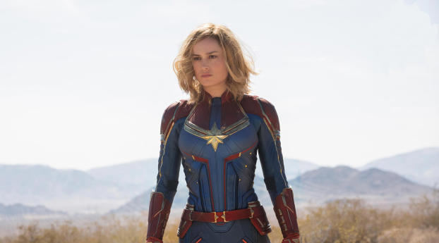HD Wallpaper | Background Image Captain Marvel 2018 Movie First Look