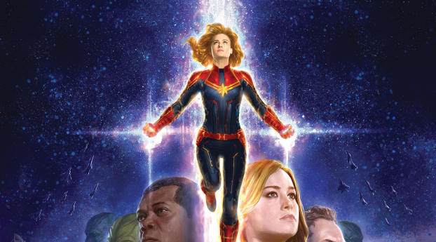 HD Wallpaper | Background Image Captain Marvel 2019 4K