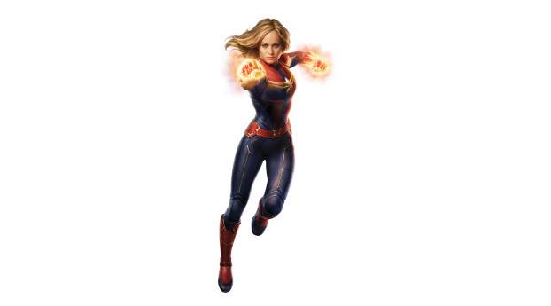 Captain Marvel 4K Wallpaper 640x1136 Resolution