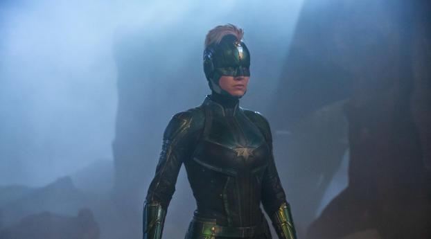 Captain Marvel in Costume Wallpaper
