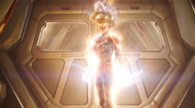 Captain Marvel Super Power Wallpaper