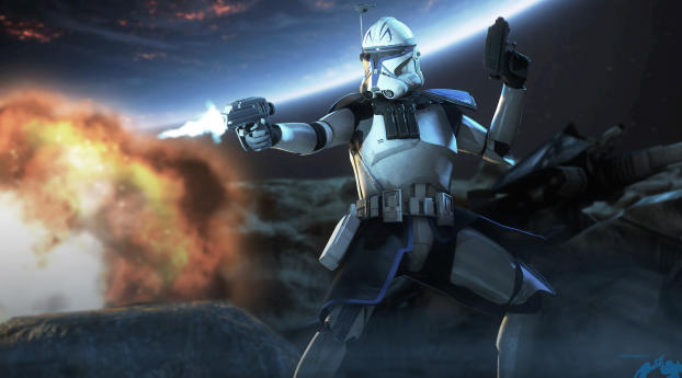Captain Rex Star Wars Republic Commando Wallpaper