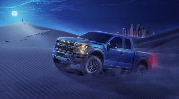 HD Wallpaper | Background Image Car Running In Desert