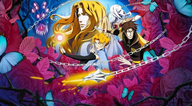 Castlevania Season 4 Wallpaper 240x320 Resolution