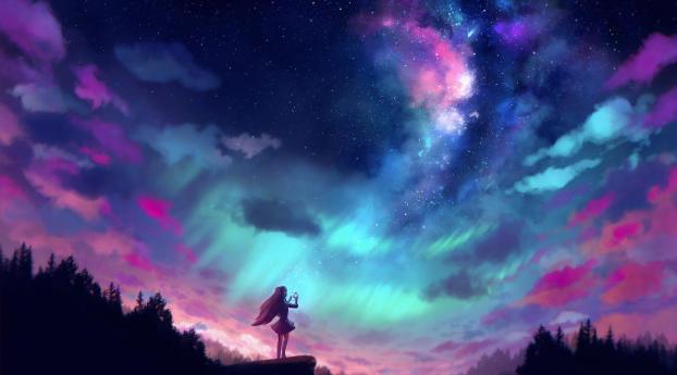 Catching The Stars Wallpaper