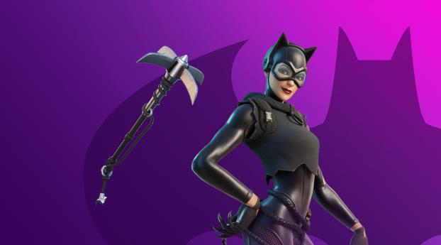 Catwoman HD Zero Fortnite 2021 Wallpaper