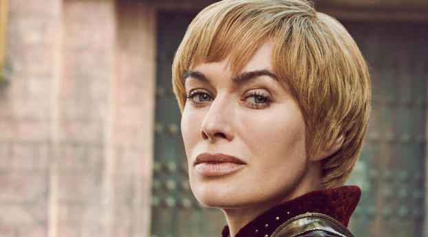 HD Wallpaper | Background Image Cersei Lannister Game Of Thrones 8 Portrait