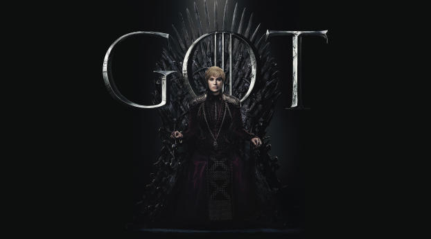 HD Wallpaper | Background Image Cersei Lannister Game Of Thrones Season 8 Poster
