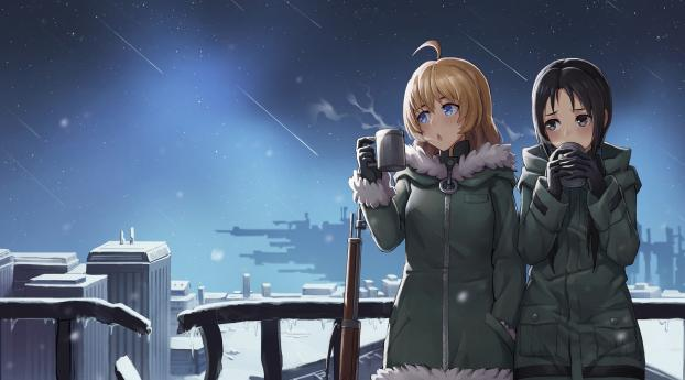HD Wallpaper | Background Image Chito and Yuuri