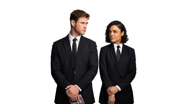 HD Wallpaper | Background Image Chris Hemsworth and Tessa Thompson Men In Black 4