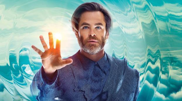 Chris Pine A Wrinkle In Time 2018 Movie, HD 4K Wallpaper