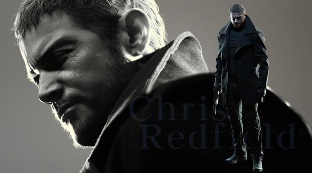 Chris Redfield Resident Evil 8 Village Wallpaper
