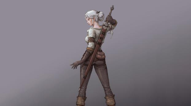 Ciri In The Witcher Wallpaper