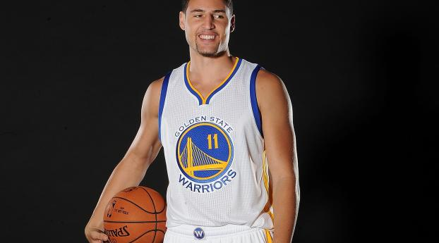 1125x2436 Clay Thompson Basketball Golden State Warriors