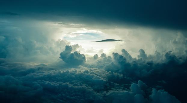 HD Wallpaper | Background Image Clouds 4K