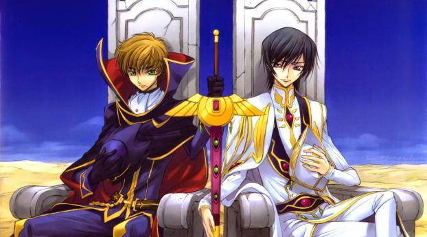 code geass r2, 2008, lelouch Wallpaper, HD Anime 4K ...