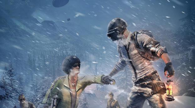 Cold Front Survival PUBG Wallpaper