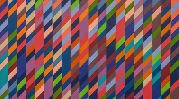 HD Wallpaper | Background Image Colorful Parallelogram Pattern