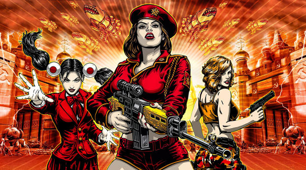 Command & Conquer Red Alert 3 Wallpaper 2048x1152 Resolution