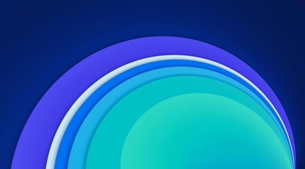 Cool Circle Abstract Shape Wallpaper 1125x2436 Resolution