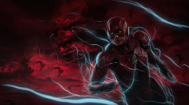 Cool Flash Art Wallpaper 1125x2436 Resolution