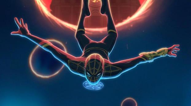 Cool Spider-Man No Way Home Art Wallpaper