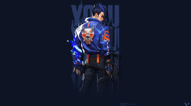 Cool Yoru New 4K Valorant Wallpaper
