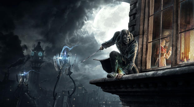 HD Wallpaper | Background Image Corvo Attano From Dishonored 2