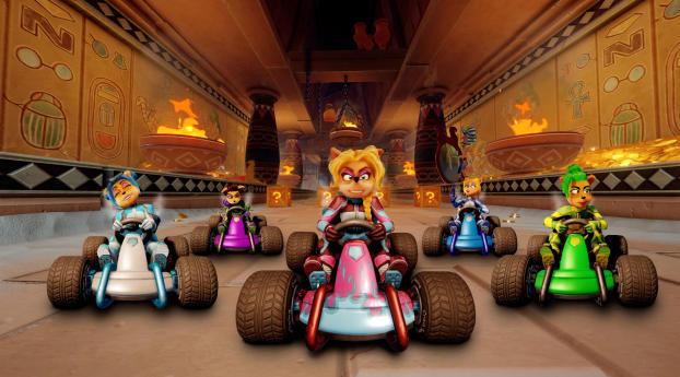 HD Wallpaper | Background Image Crash Team Racing