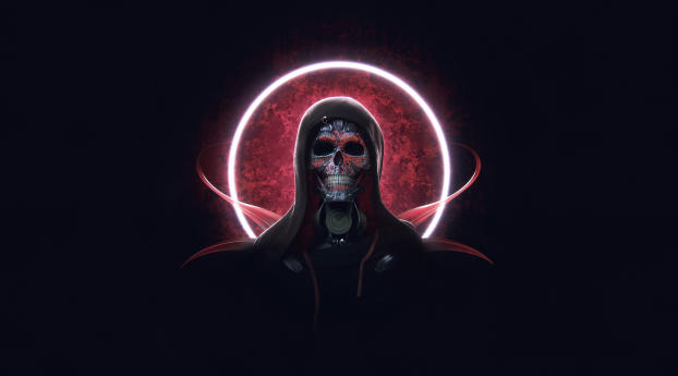 HD Wallpaper | Background Image Creepy  Cyborg  Skull