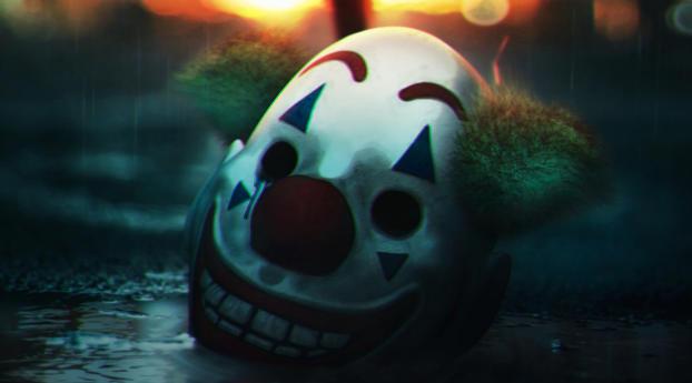 HD Wallpaper   Background Image Creepy Joker Smile