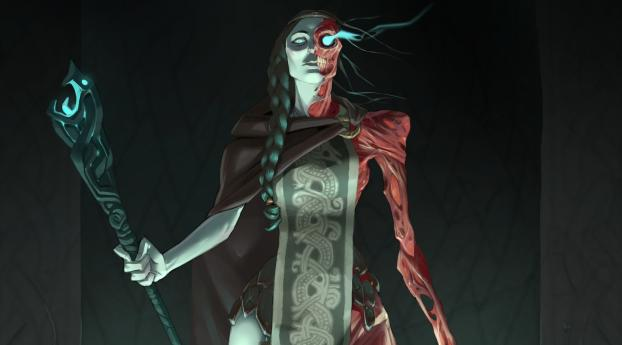 HD Wallpaper | Background Image Creepy Woman Witch